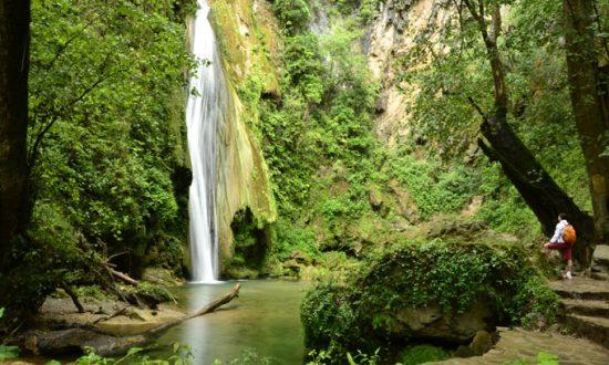 Cascada del Chuveje